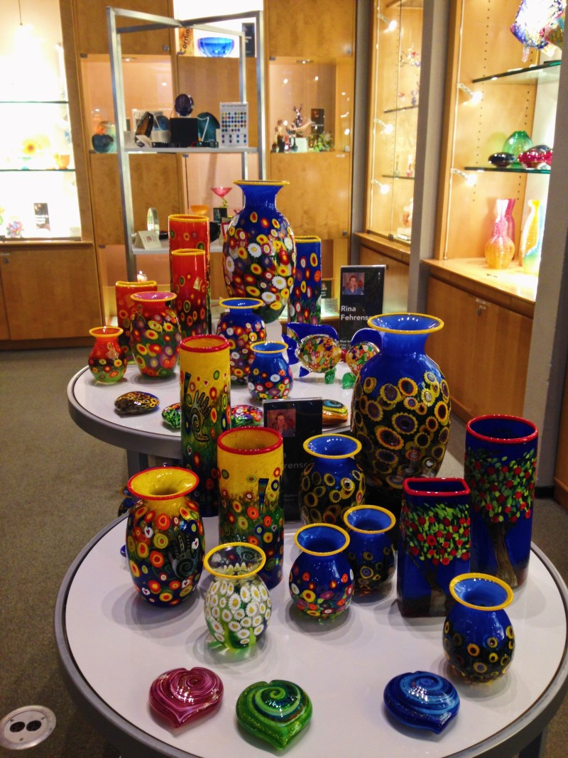 Musée du verre à Corning