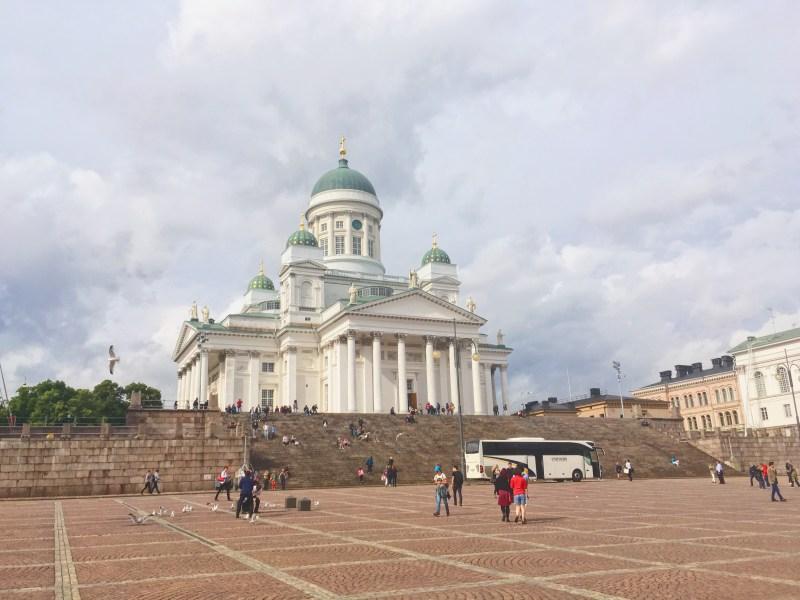 Cathédrale luthérienne à Helsinki