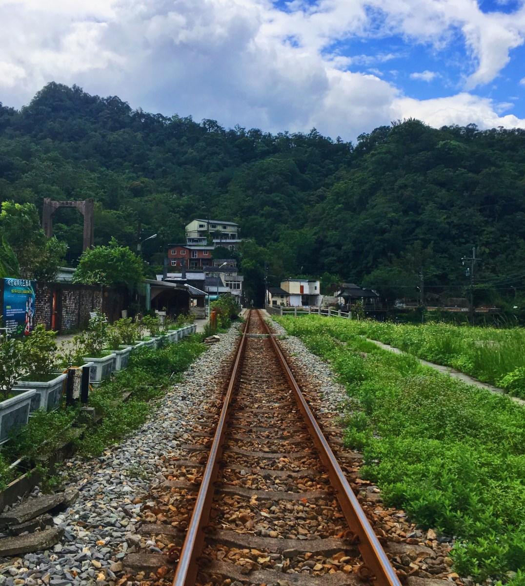 Une journée sur le vieux chemin de fer de Pingxi