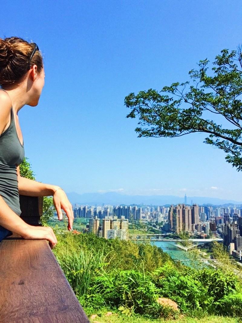At the top of Hemeishan