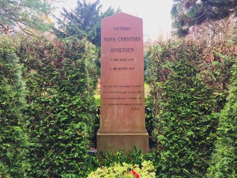 H. C. Andersen Tomb