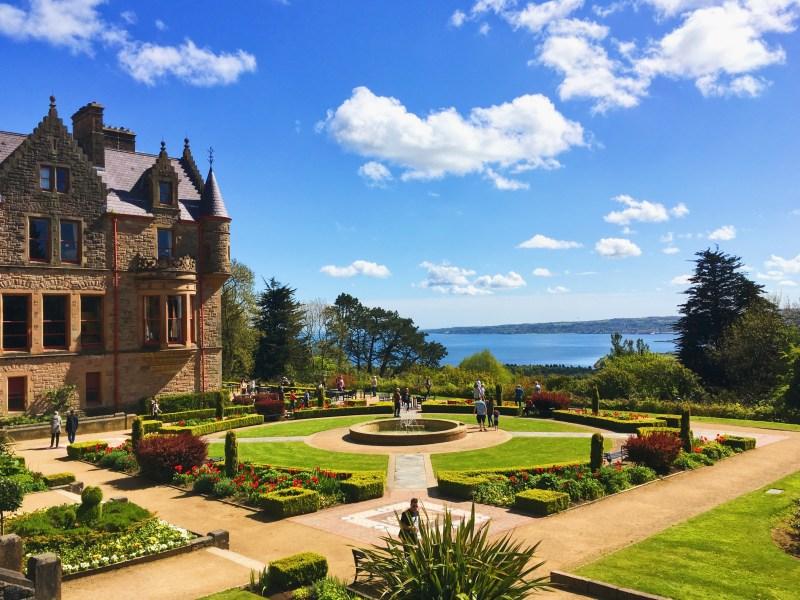 Jardin du château de Belfast
