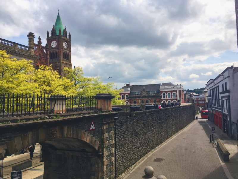Derry fortified city