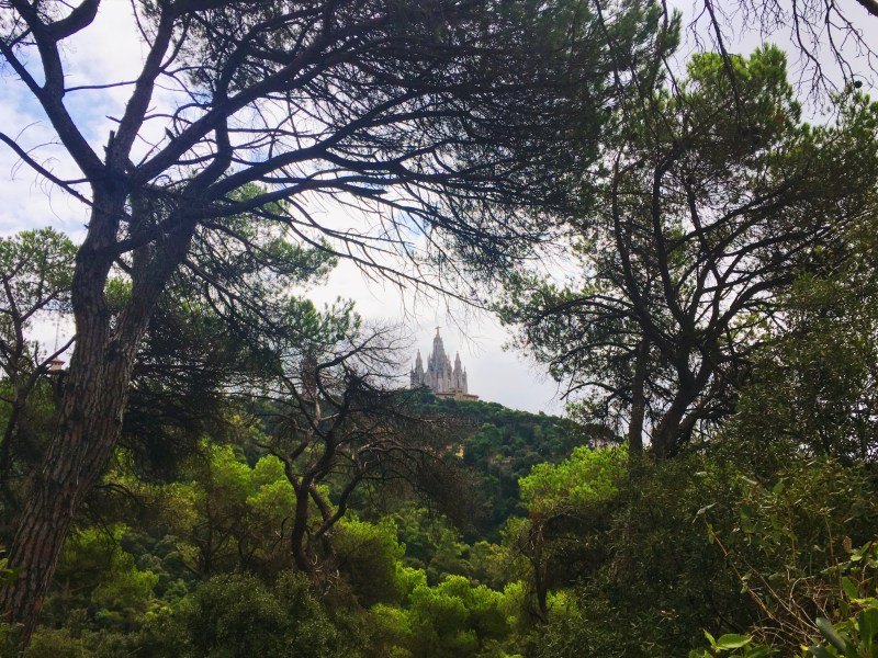 Tibidabo mountain