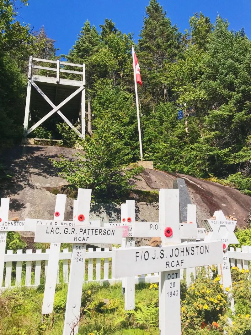 Cemetery on Montagne Noire