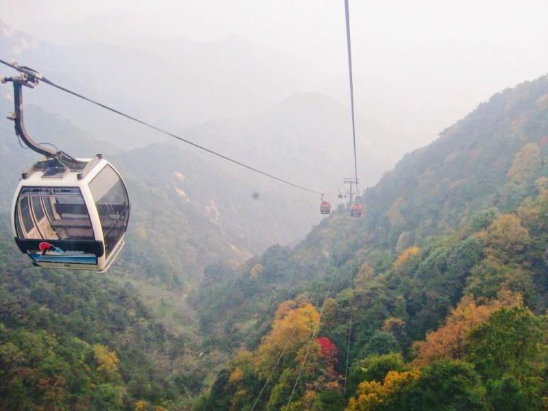 Téléphérique à Taishan