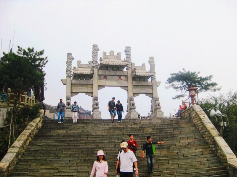 Sommet de Taishan