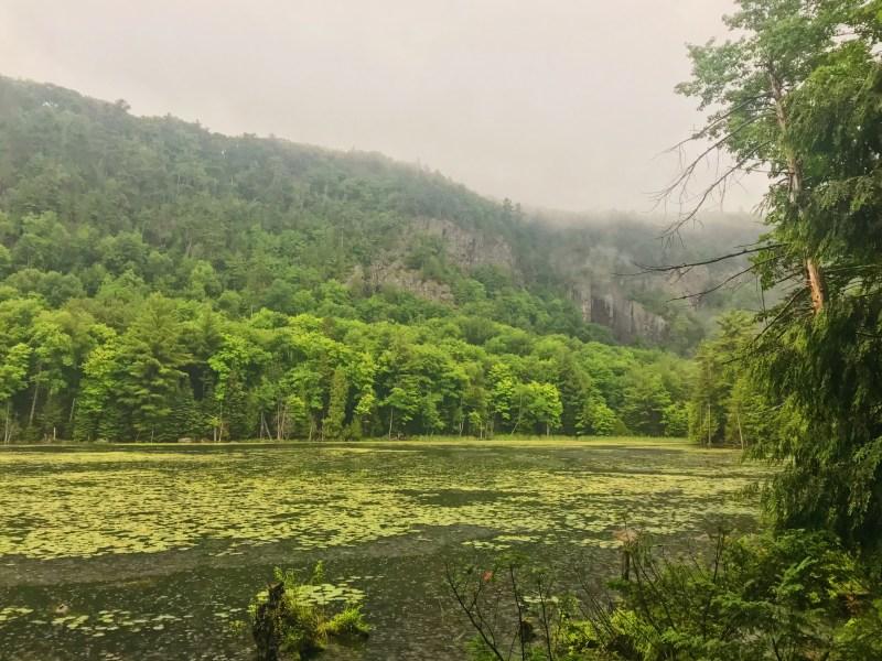 Lac Paradis à Prévost