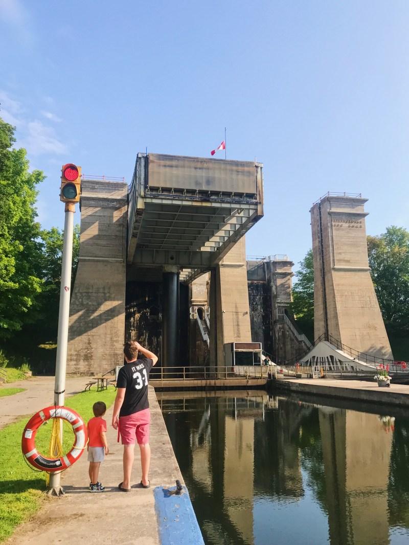 Peterborough's lift locks