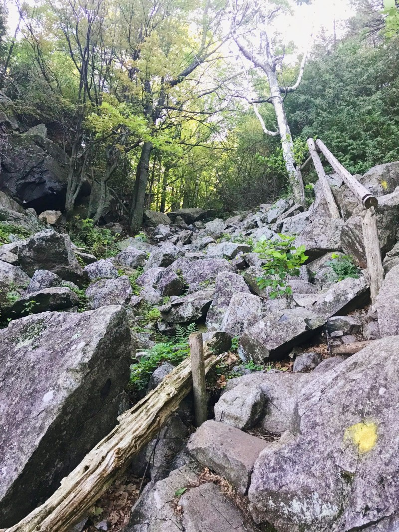 Trail at Mont Saint-Grégoire