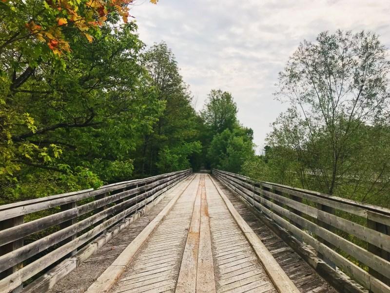 Pont sur le Tiny Rail Trail