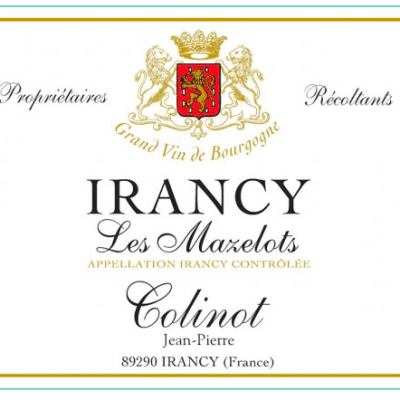 Domaine Colinot Irancy Les Mazelots