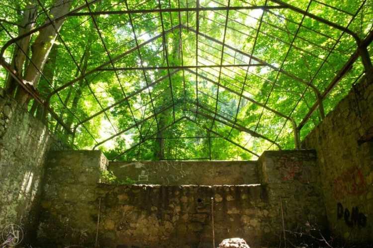 Cornish Estate Ruins Hudson Valley