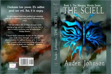 dark fantasy book cover design