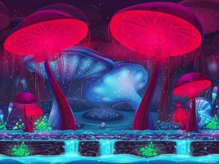 World building fantasy plants and animals