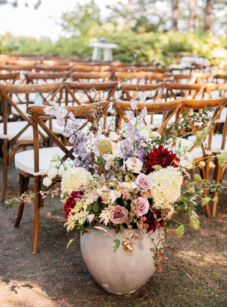 Whimsical Mauve & Blush Wedding