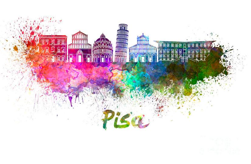 pisa-skyline-in-watercolor-pablo-romero