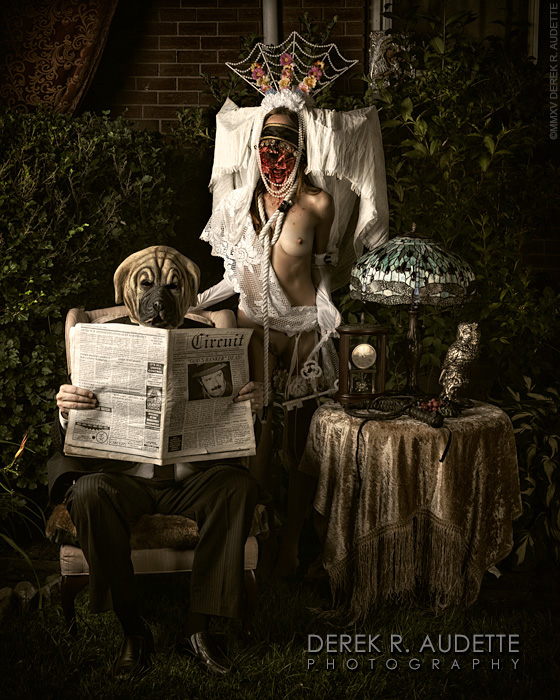 Propaganda Due (Plate IX) - Photography by Derek R. Audette