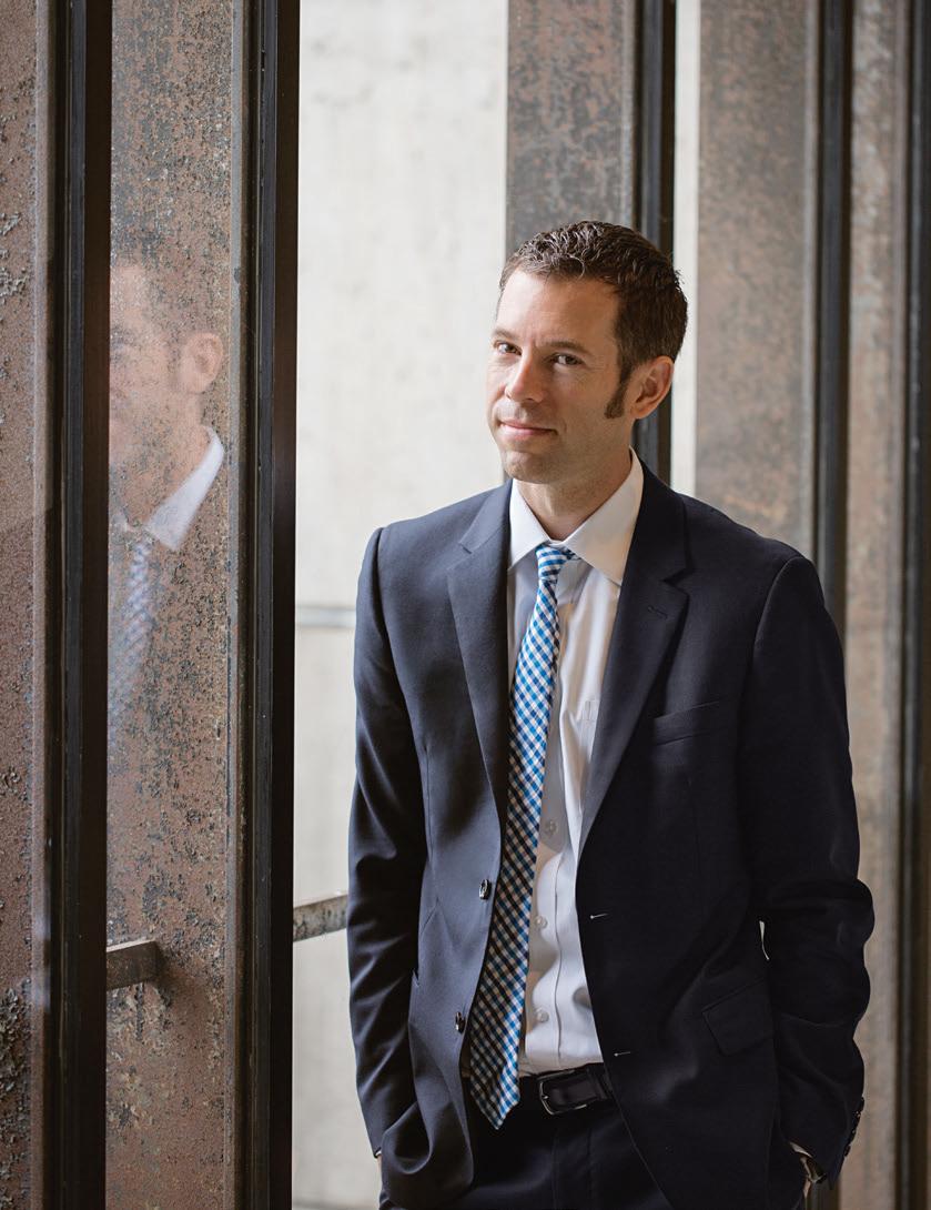 Kris Carter ist zusammen mit Nigel Jacob der führende Kopf hinter MONUM, einer der wohl ungewöhnlichsten Behörden in Amerika