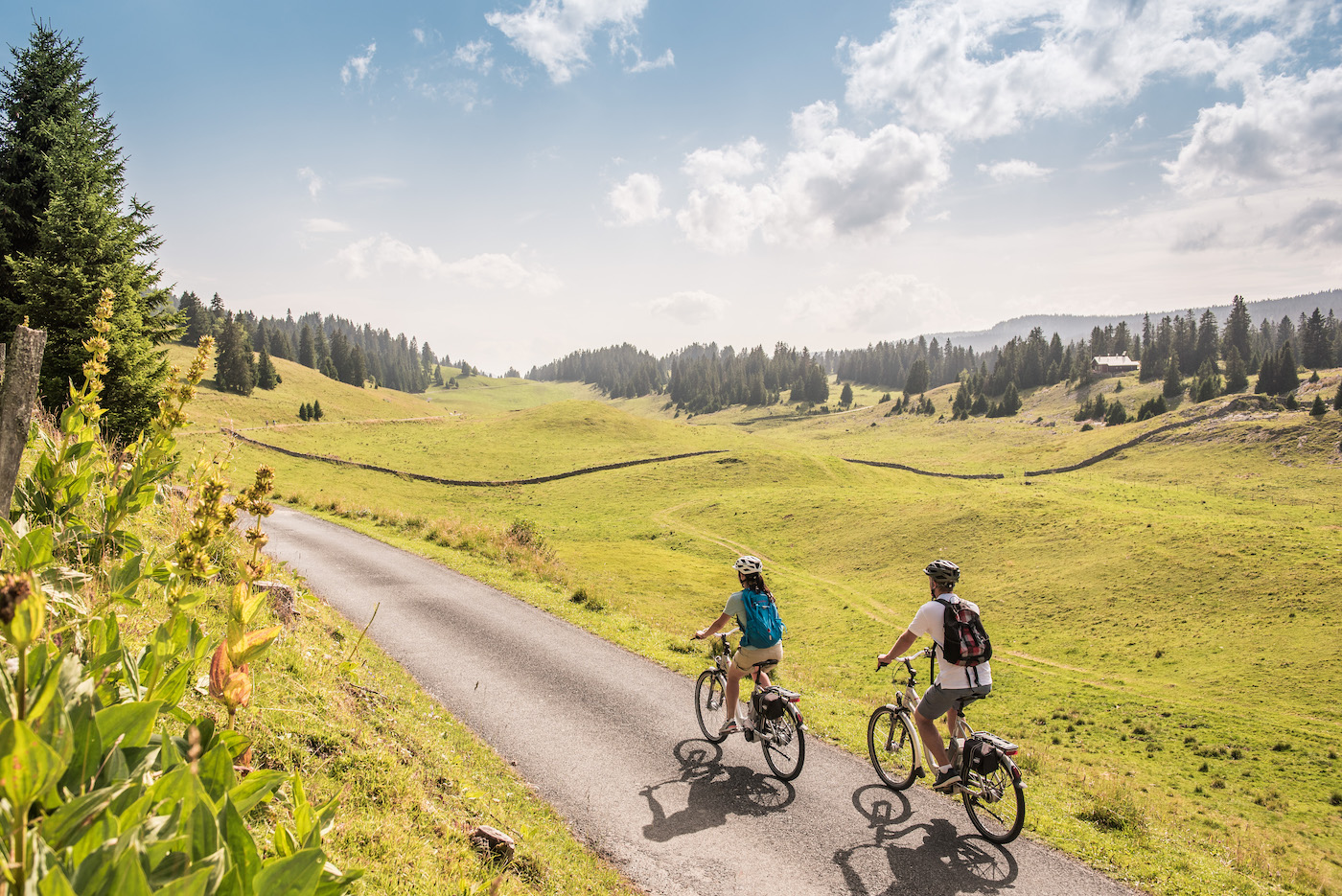 Die «Herzroute» von Schweiz Tourismus eignet sich besonders für E-Biker. (Schweiz Tourismus)