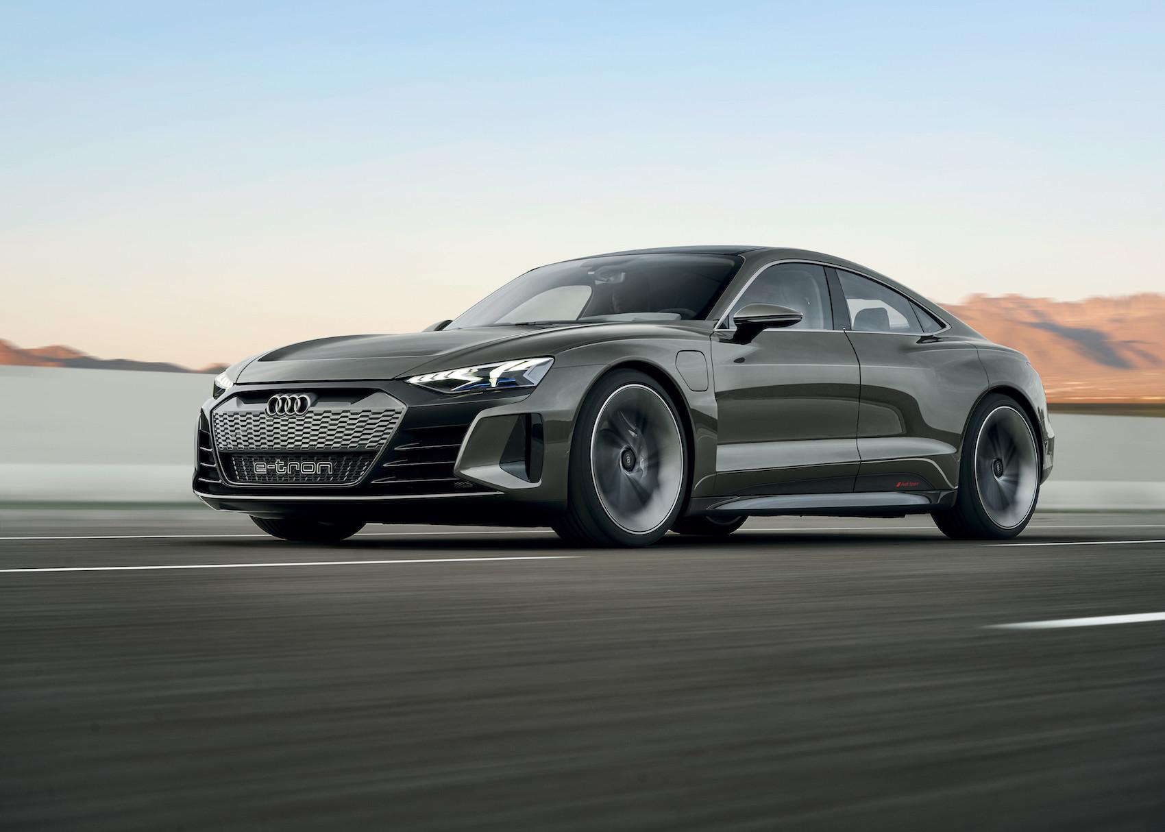 Die Serienversion des e-tron GT soll Anfang 2021 ausgeliefert werden. (Audi)