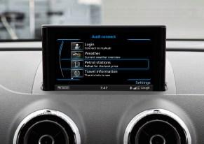 Audi connect Fuel stop