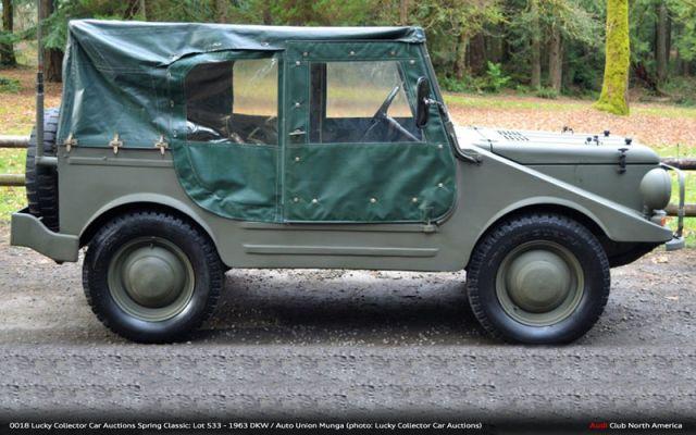 Find of the Day: 1962 DKW Munga - Audi Club North America