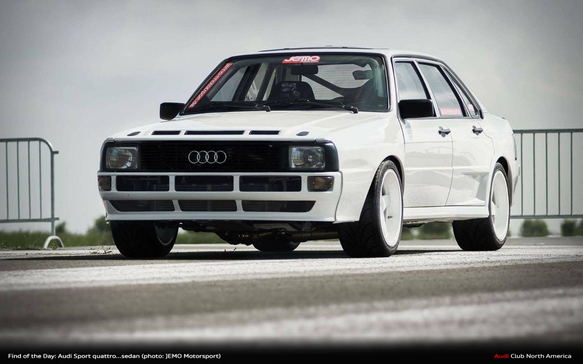Find Of The Day  Audi Sport Quattro   Sedan