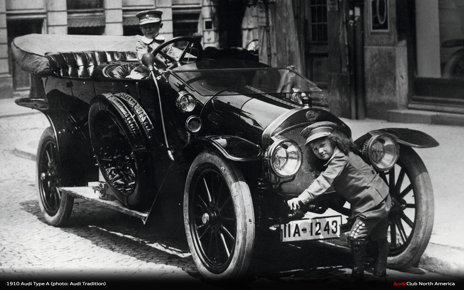 In The Beginning: Audi Type A