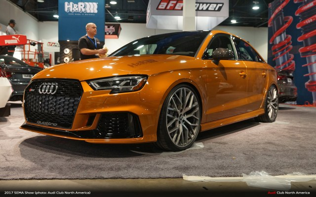 H&R Street Performance Coil Over for the Audi RS 3