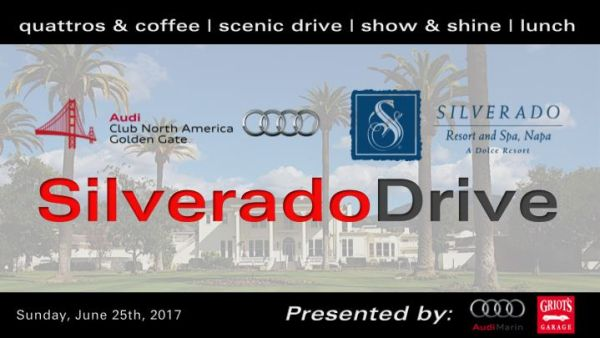 "Golden Gate Chapter will kick off the 1st annual ""Silverado Drive"""