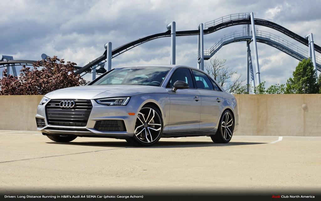 Driven: Long Distance Running in H&R's Audi A4 SEMA Car