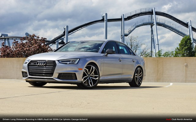 Driven: Long Distance Running in H&R's Audi A4 SEMA Car