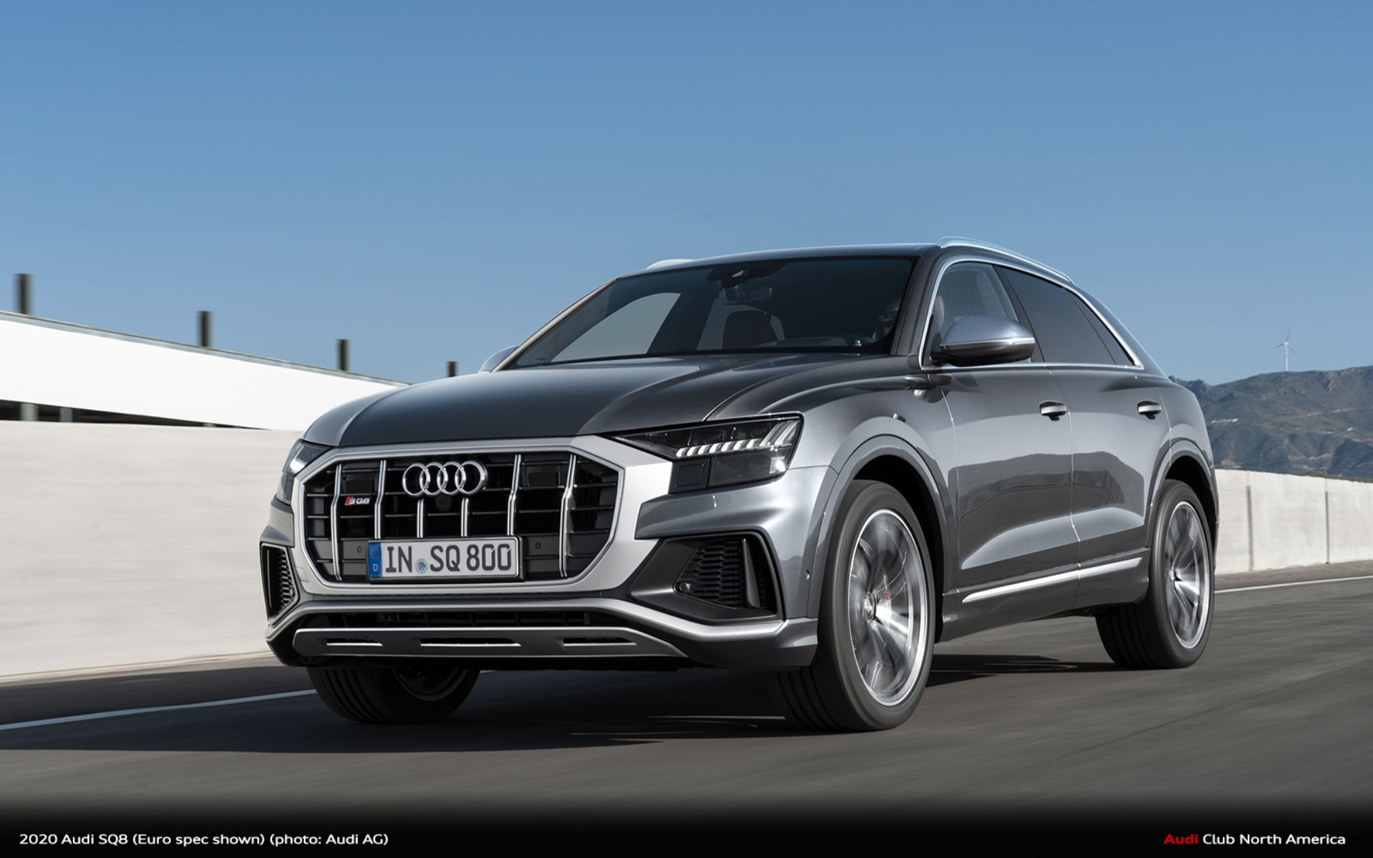 2020 Audi SQ8 Delivers Powerful V8 Performance and Bold Road Presence