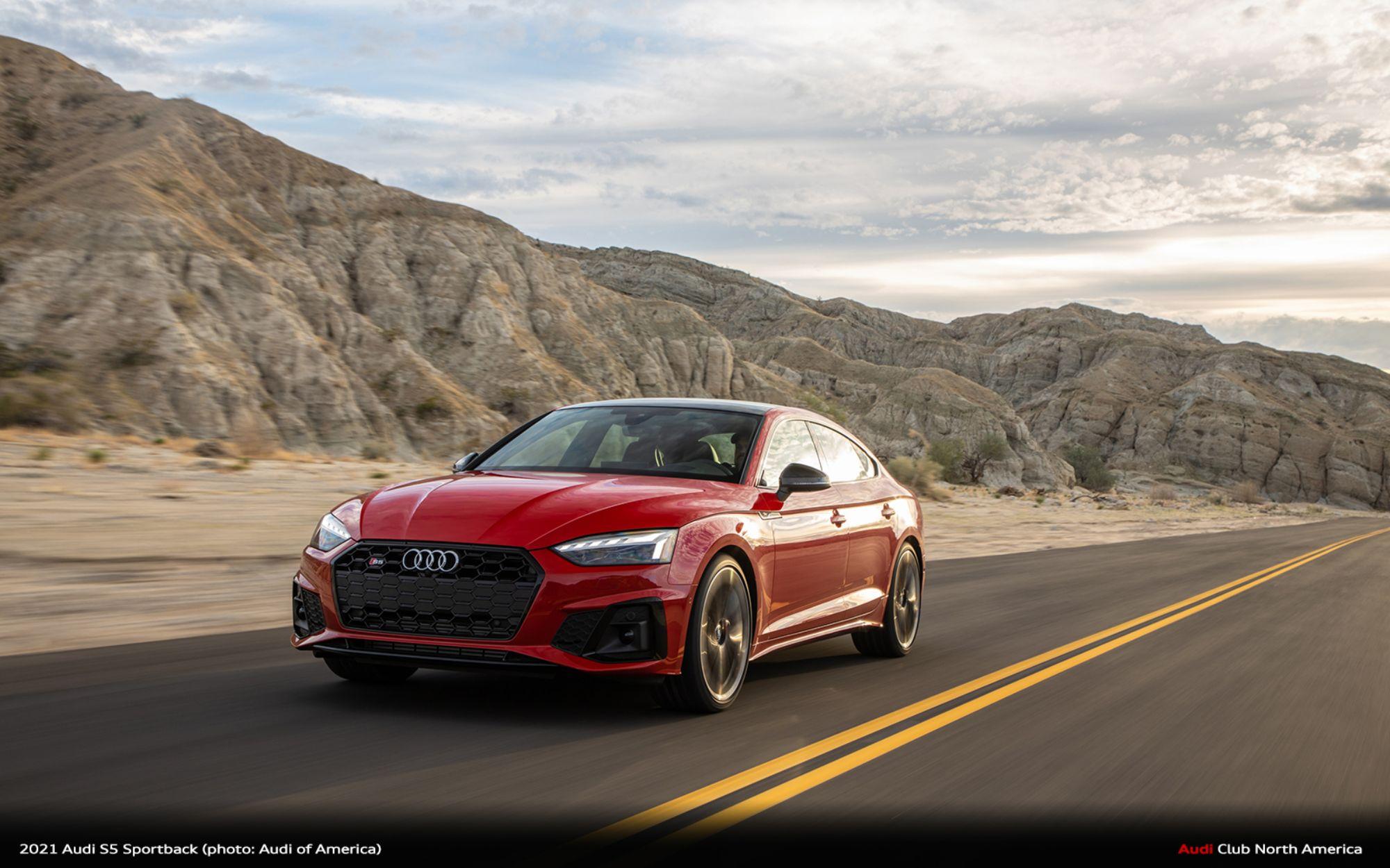 Audi of America Announces Full 2021 Model Year Updates
