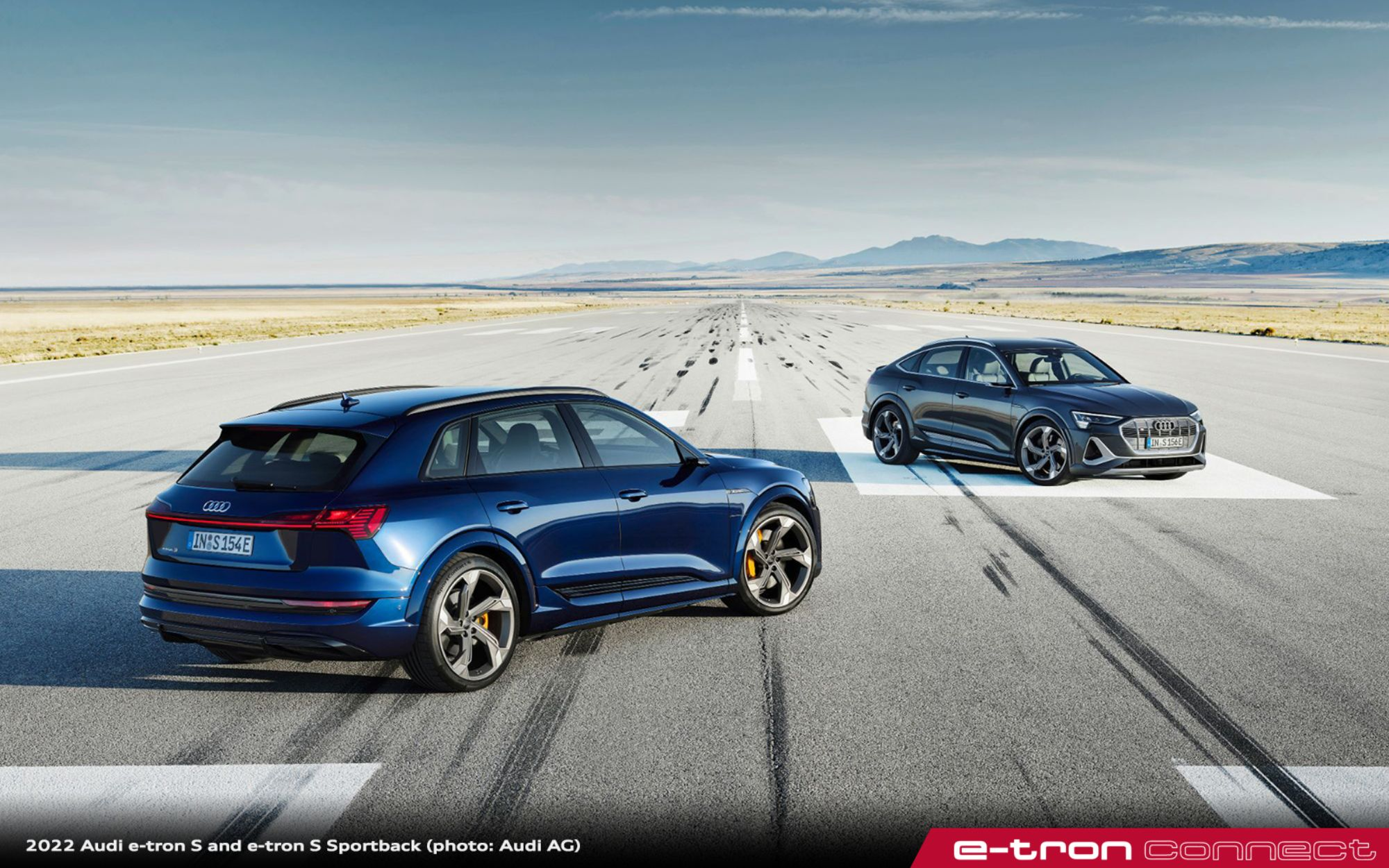 2022 Audi e-tron S and e-tron S Sportback Models Coming to US This Fall