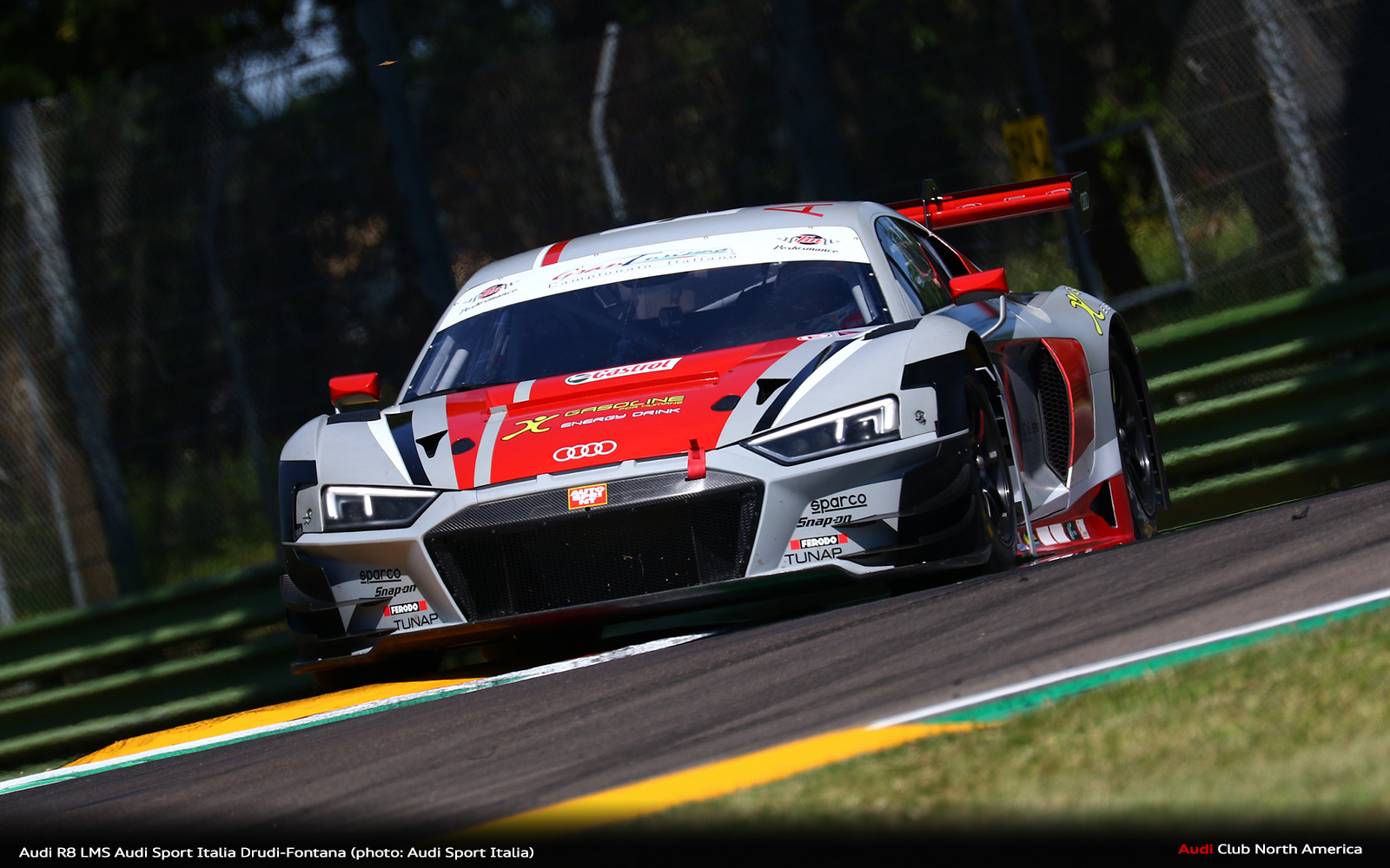 Drive-Through, Bad Breaks Ultimately Spoil Imola Italian Gran Turismo Weekend for Audi Sport Italia Young Guns