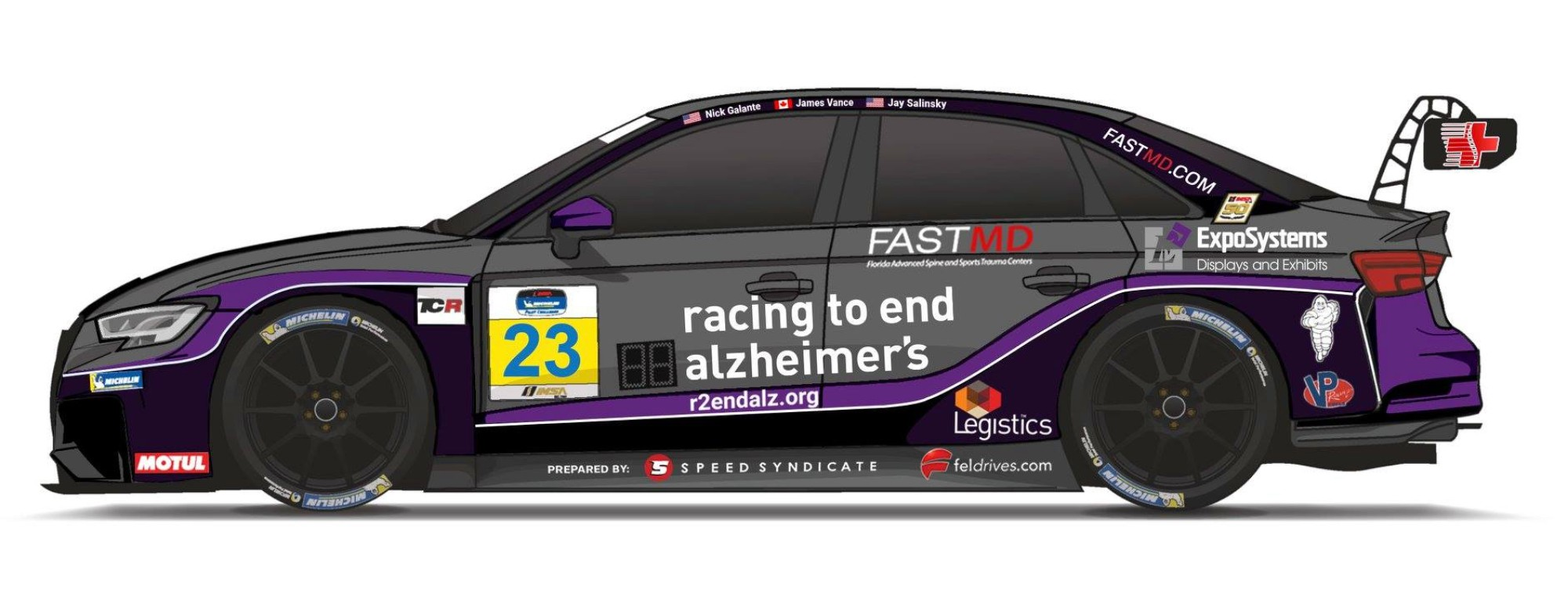 FASTMD Races into IMSA Michelin Pilot Challenge