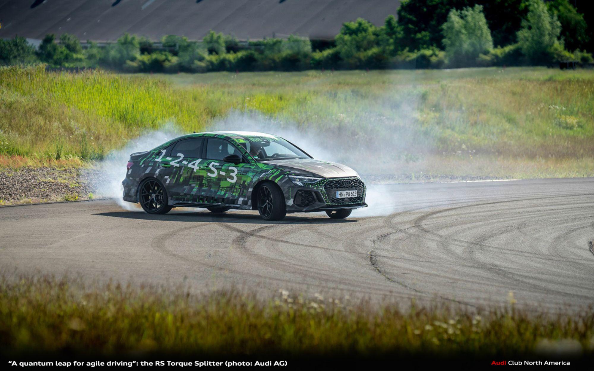 """A Quantum Leap for Agile Driving"": the RS Torque Splitter"