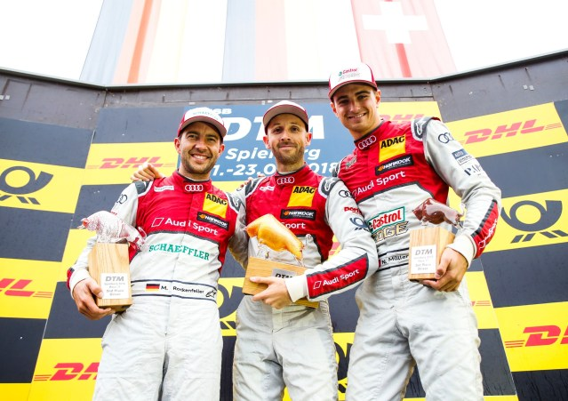 DTM Thriller at Spielberg: Audi Celebrates Unexpected One-Two-Three Result
