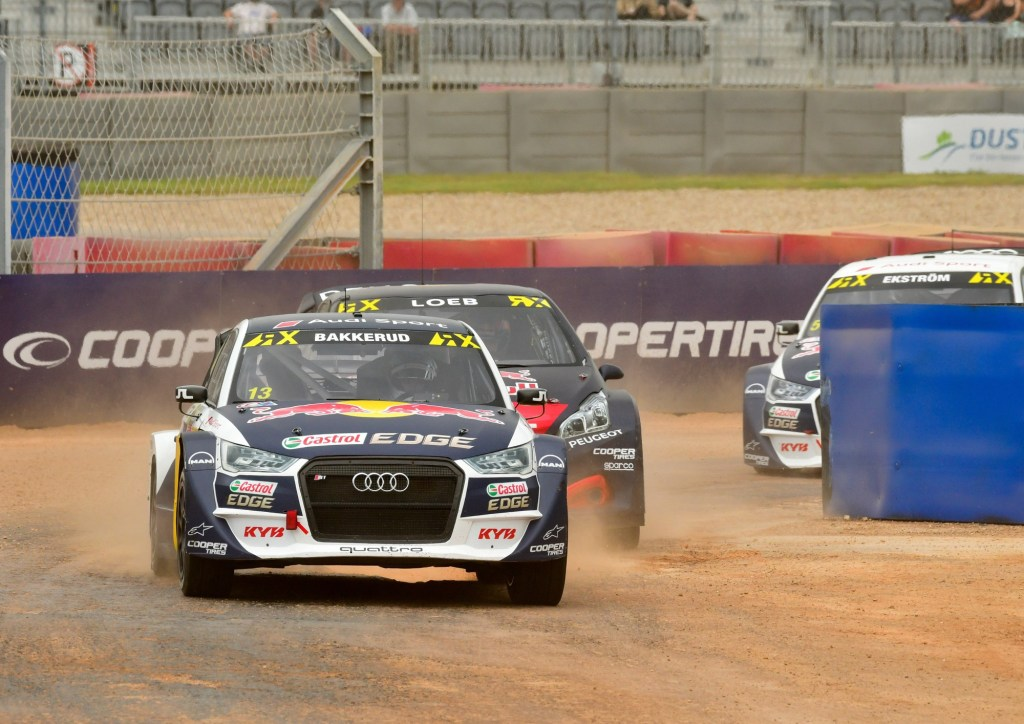 Audi Driver Andreas Bakkerud's Wild Ride Onto The Podium