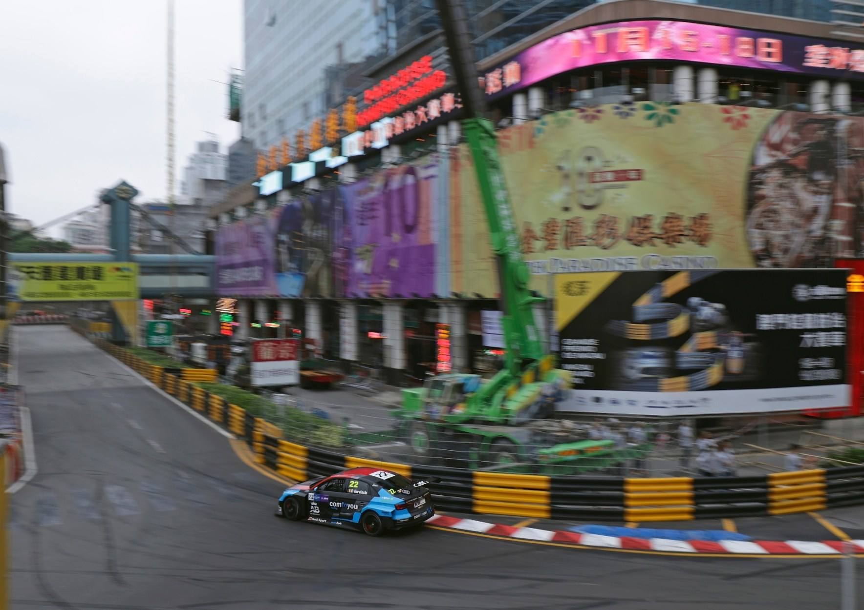 Two Victories For Audi Sport customer racing In Macau