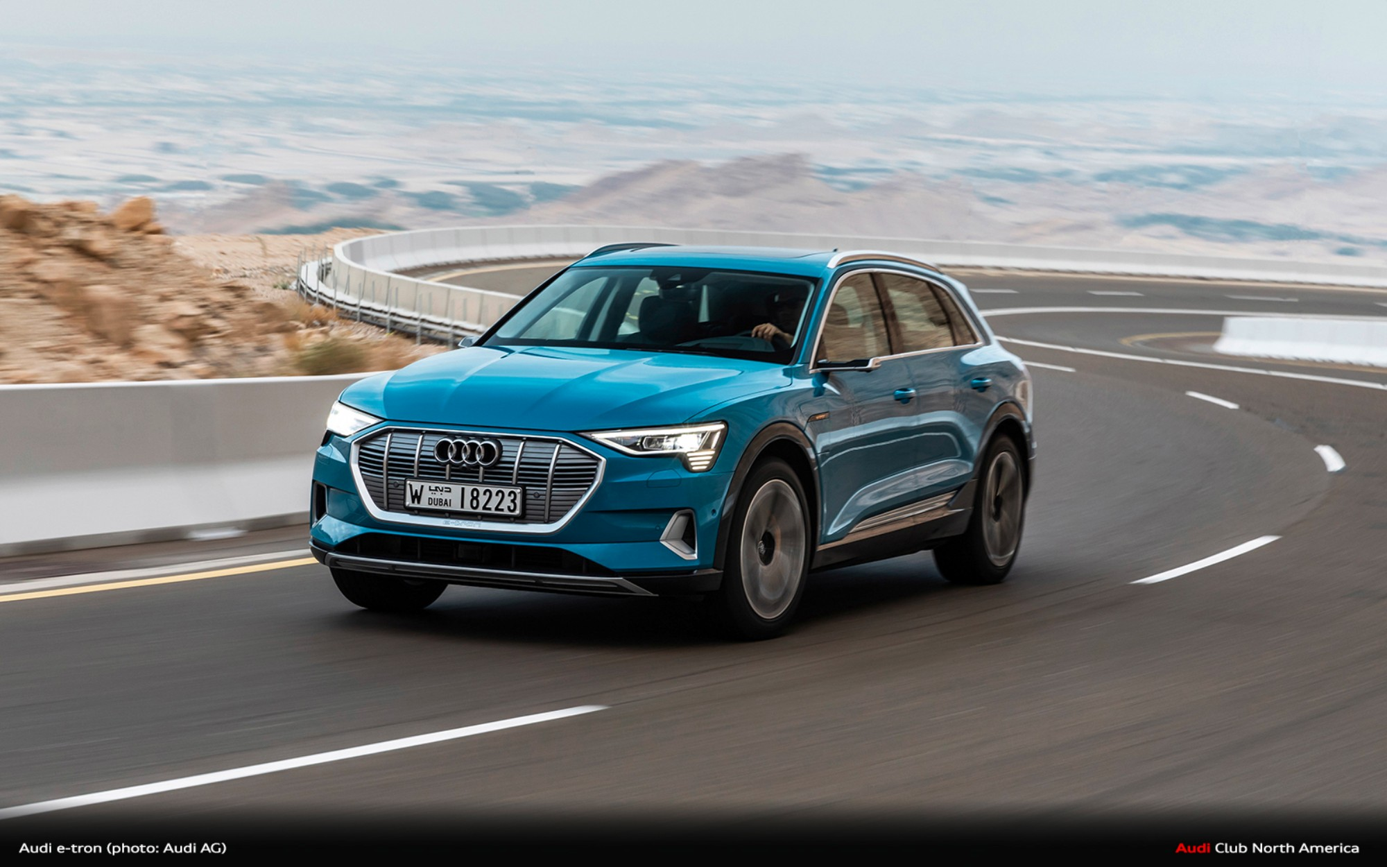 2019 Audi e-tron arrives next month: Fully electric SUV