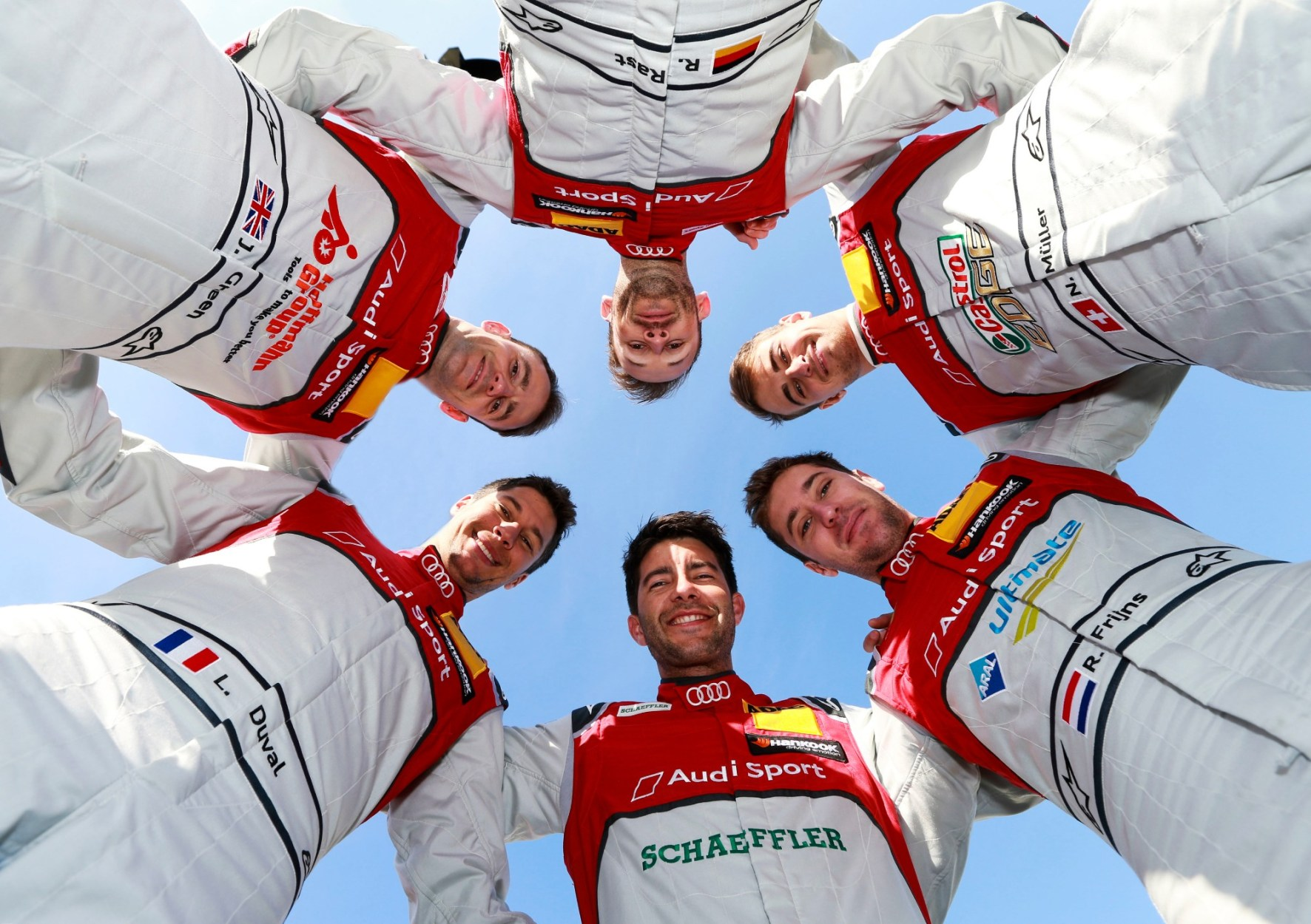 The Right Six: Audi Confirms Drivers For DTM