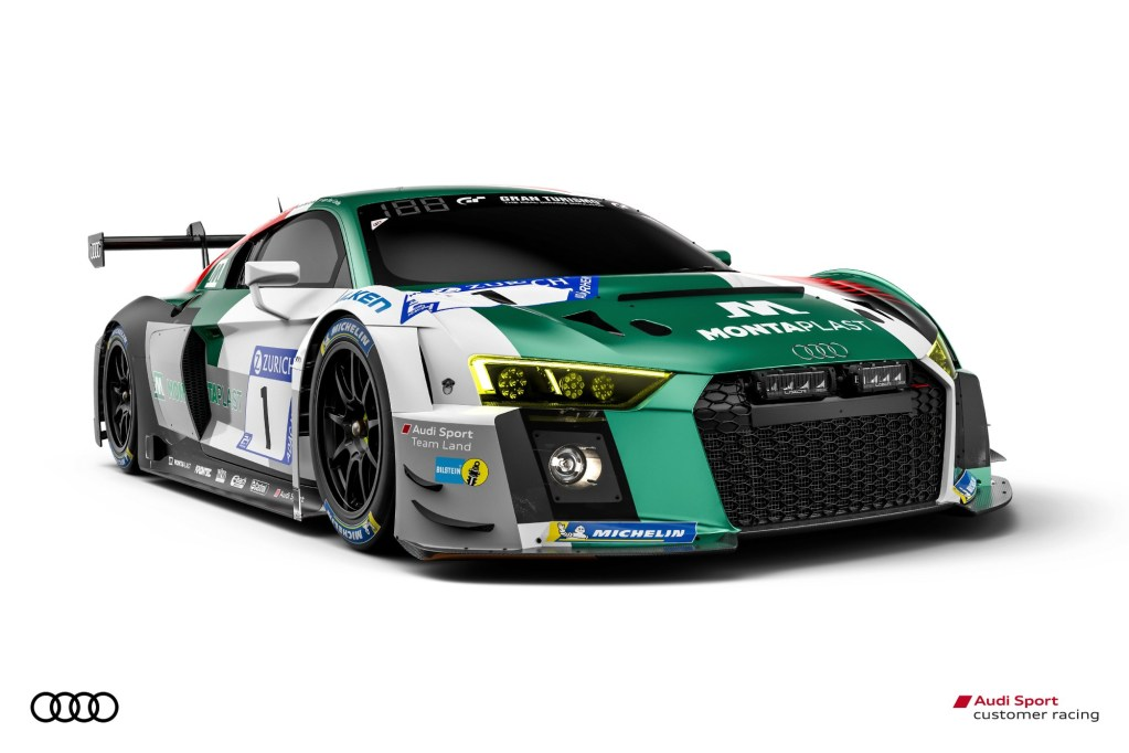 Nürburgring 24 Hours: Biggest Festival of the Year for Audi Sport customer racing