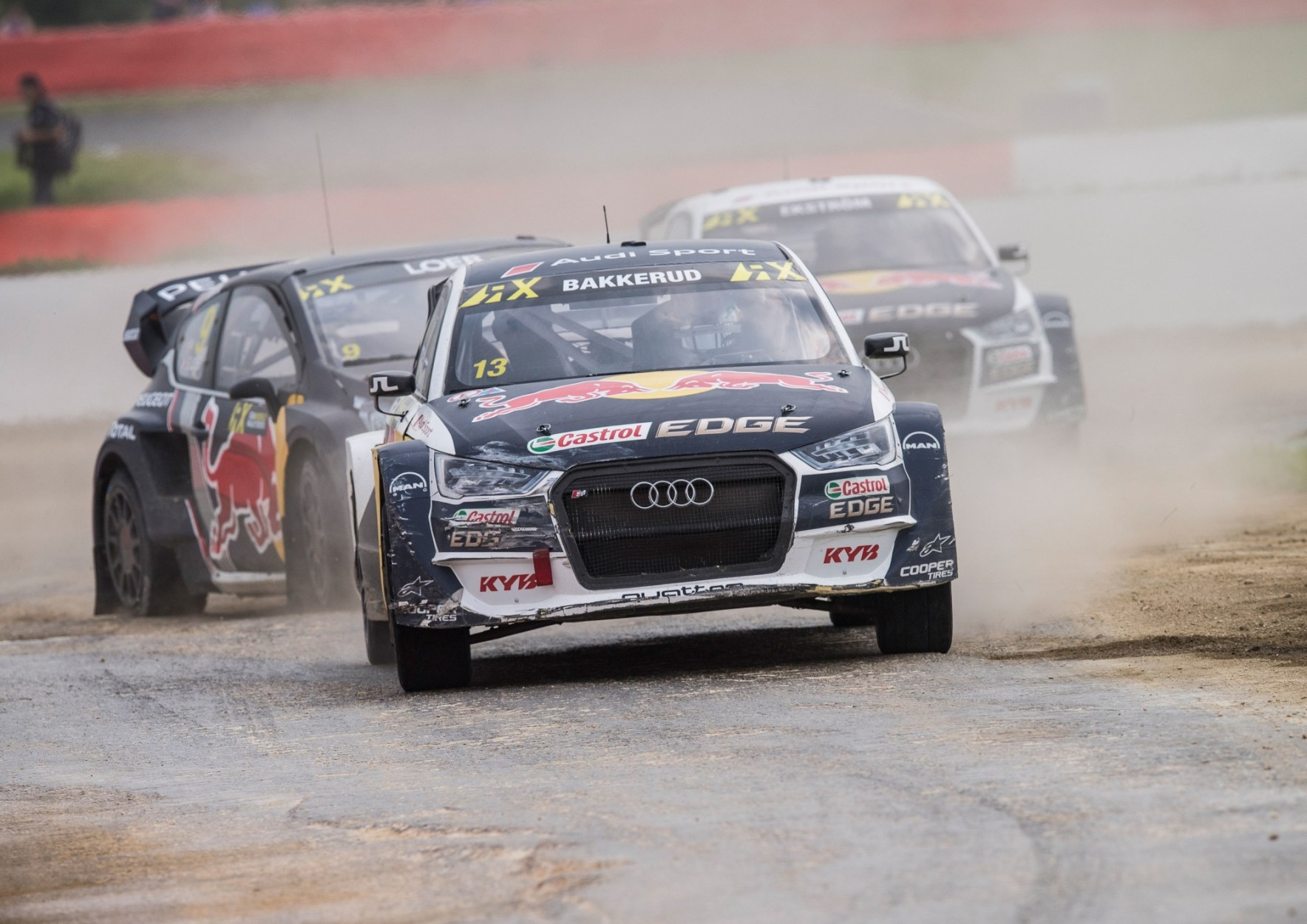 Rallycross Home Round for Audi Driver Bakkerud