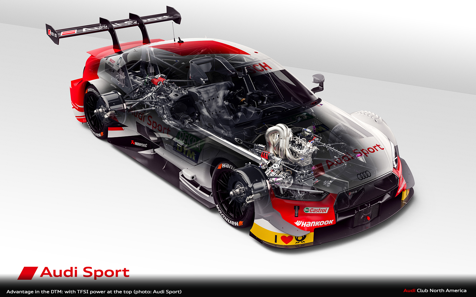 Advantage in the DTM: With TFSI Power at the Top