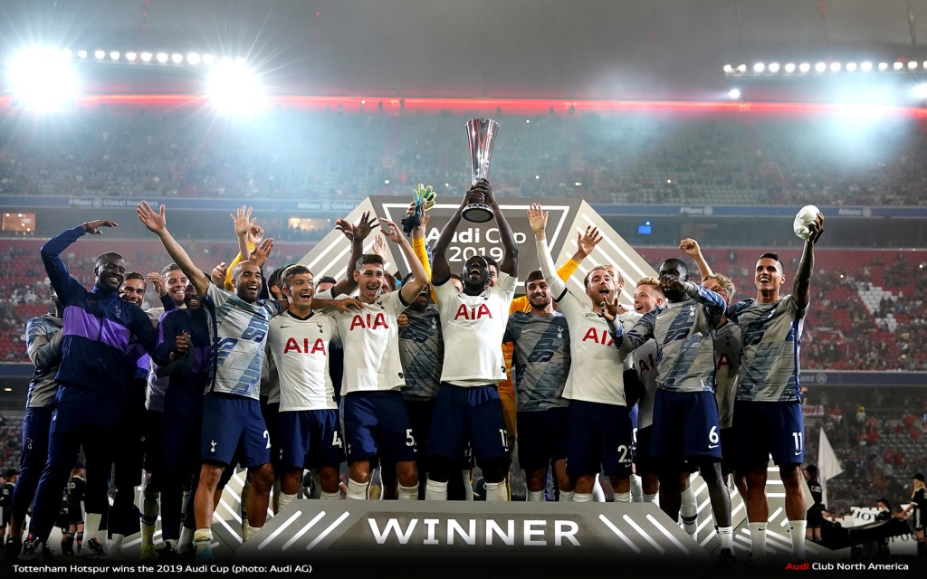 Tottenham Hotspur Wins The 2019 Audi Cup