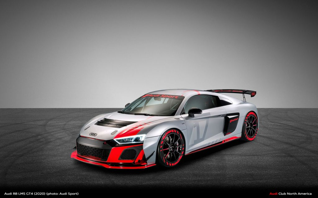 Audi R8 LMS GT4 Sporting A New Look