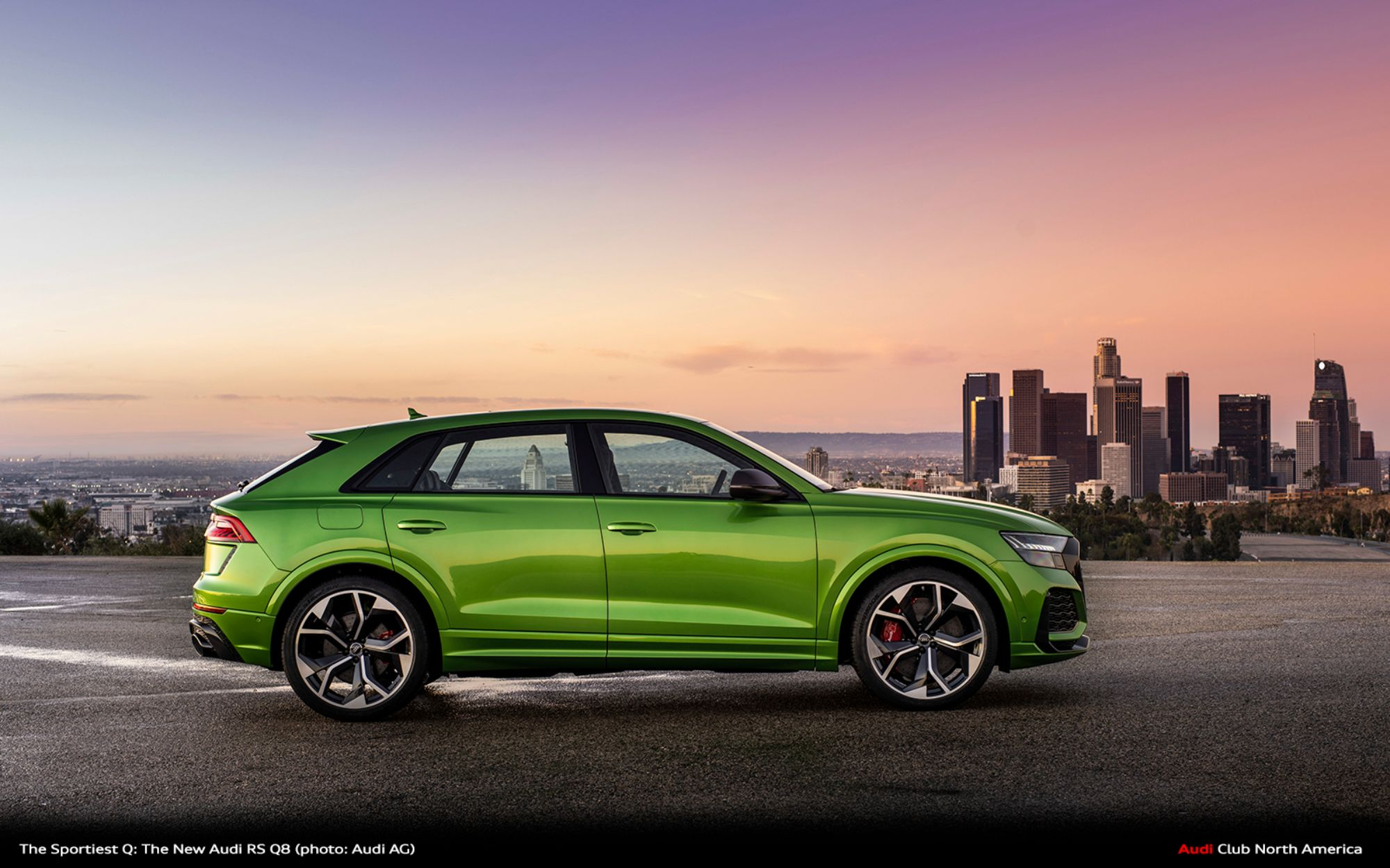 The All-New Audi RS Q8: The Beast Is a Beauty